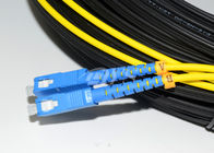चीन Duplex SC to SC Optical Fiber Patch Cord Patch / Cord Jumper For CATV फैक्टरी