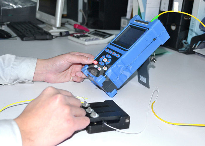 चीन Multi Language Palm Checking Fiber Optic Test Equipment / Optical Cable Tester DYS3028 आपूर्तिकर्ता