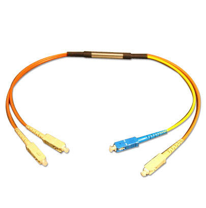 Mode Conditioning 62.5 / 50mm multimode Optical Fiber Patch Cord Compliant With IEEE802.3Z आपूर्तिकर्ता