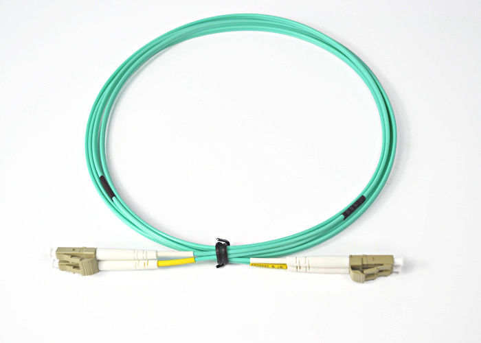 चीन High Return Loss Flexible DYS LC Optical Fiber Patch Cord Meet The EUROPE ROHS Request आपूर्तिकर्ता