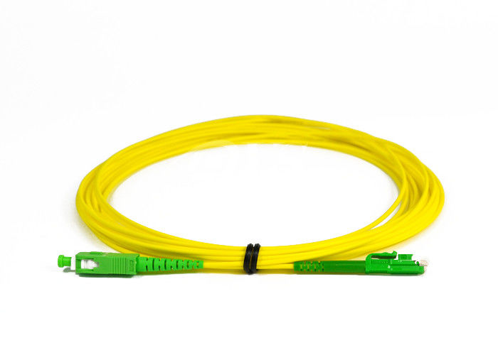 चीन SC / APC -LX.5 / APC Simplex Fiber Optic Patch Cord for Access Network आपूर्तिकर्ता