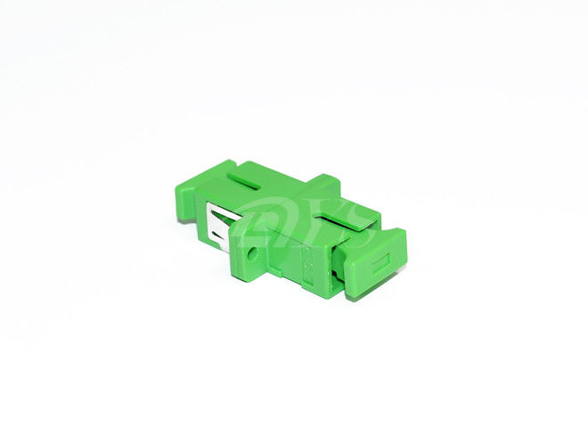चीन SC APC Fiber Optic Adapter Factory price with A quality आपूर्तिकर्ता