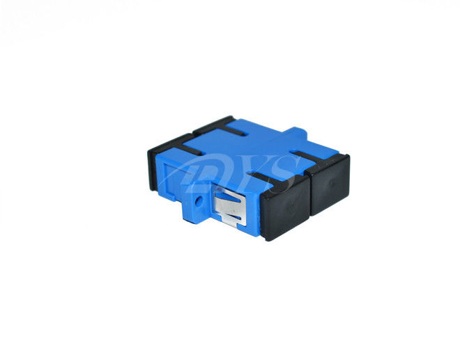 Duplex Singlemode SC / UPC Fiber Optic Adapter for Optical Networks आपूर्तिकर्ता