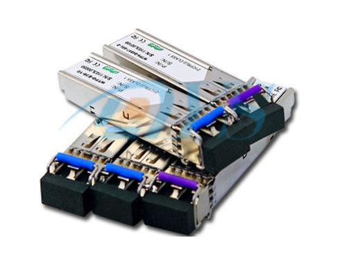 Single-mode Fiber Optic Transceiver Compliant IEC60825-1 / RoHS आपूर्तिकर्ता