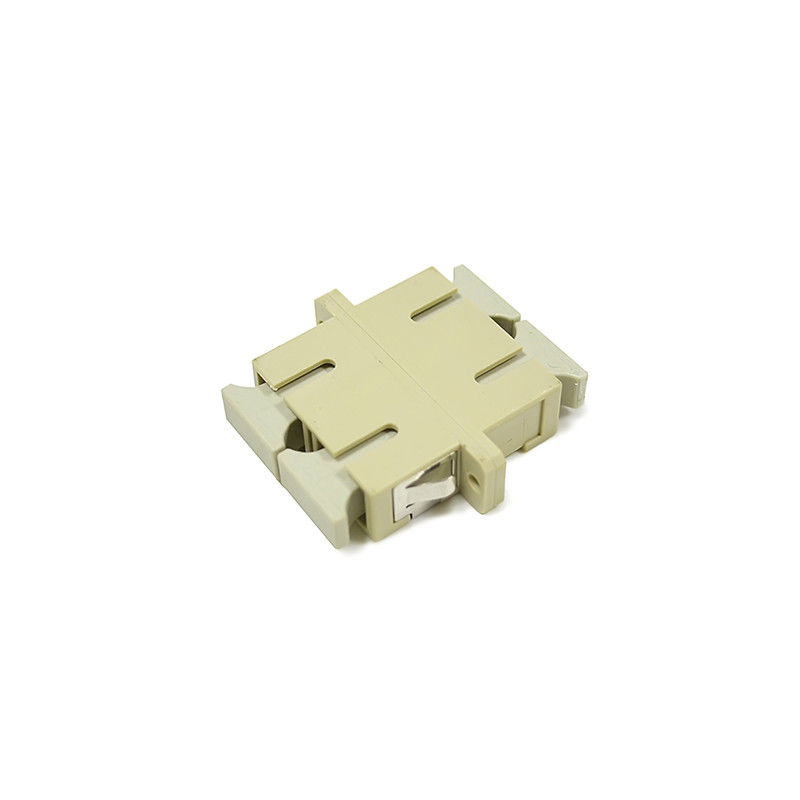 चीन Duplex Multimode SC/UPC Fiber Optical Adapter For High Size Precision आपूर्तिकर्ता