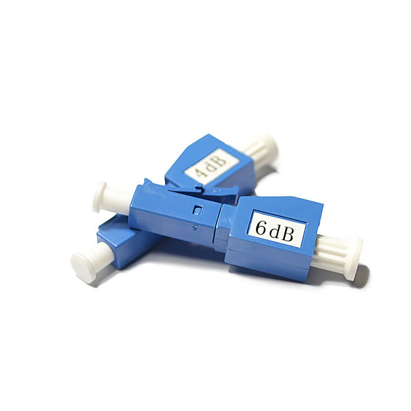 18dB Singlemode Male to Female LC / UPC Fiber Optic Attenuator , 3 / 20dB Optical Attenuator आपूर्तिकर्ता