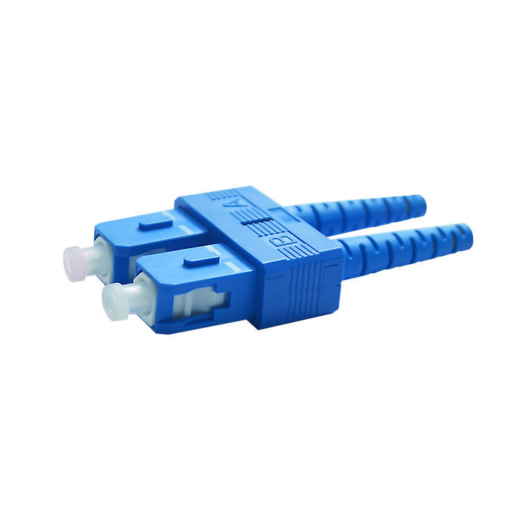 High Back Reflection Loss Value SC / UPC Optical Fiber Connectors Parts To CATV आपूर्तिकर्ता