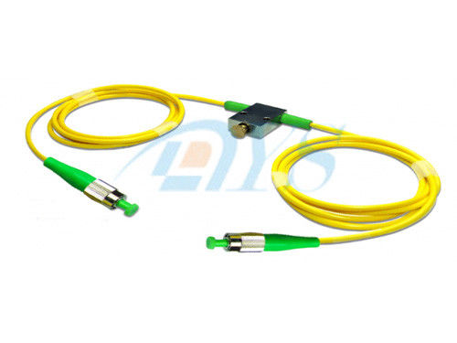 चीन FC / APC Fiber Optic Attenuator Variable Low Insertion Loss For VOA आपूर्तिकर्ता