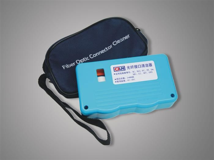 Optical Fiber Connector Cleaner For Cleaning SC, SC2, FC, ST, DIN, D4 MU, LC, MT Connector आपूर्तिकर्ता